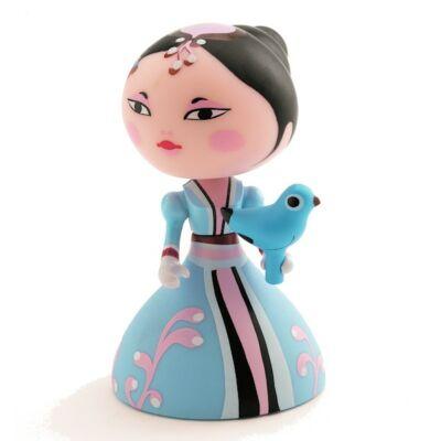 Arty Toys hercegnő, Himeka (Djeco, 6756, játékfigura, 3-10 év)