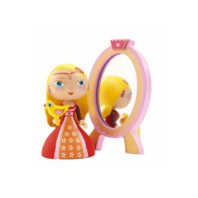 Arty Toys hercegnő, Nina és a tükör (Djeco, 6761, játékfigura, 3-10 év)