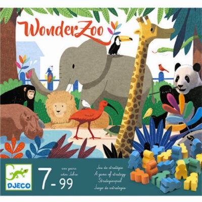 WonderZoo (Djeco, 8402, stratégiai társasjáték, 5-10 év)