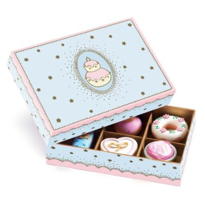Hercegnők süteményei (Djeco, , fa szerepjáték, 4-10 év)