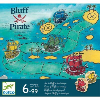 Bluff Pirate (Djeco, 8417, kalózos társasjáték,6-99 év)
