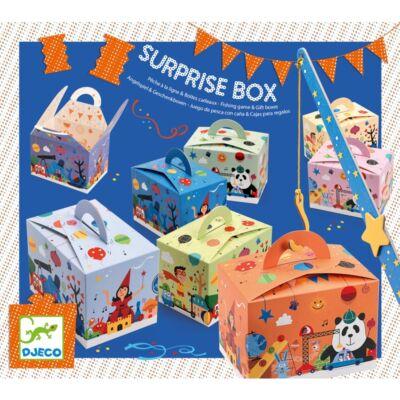 Parti játék, Surprise box (Djeco, 2092, partijáték, 4-8 év)