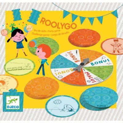 Partyjáték - Kihívás - Roolygo (Djeco, 2094, parti társasjáték, 5-8 év)