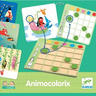 Animo Colorix (Djeco, 8359, szín-forma egyeztető, 2-4 év)