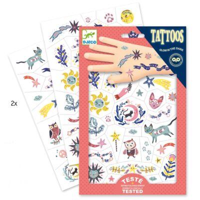 Tetoválás, Édes álom (Djeco,9592, kreatív játék, 3-10 év)