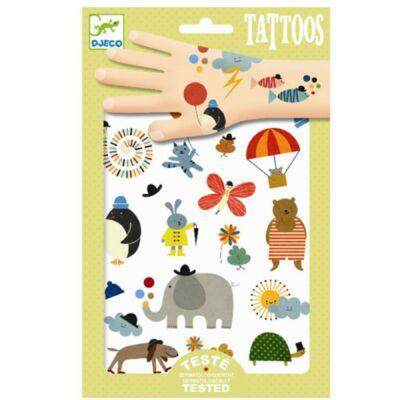 Tetoválás, Cukiságok (Djeco, 9579, kreatív játék, 3-10 év)