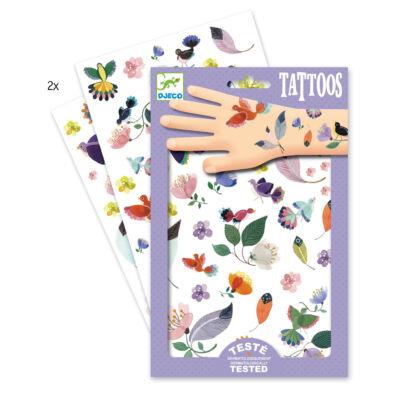 Tetoválás, Repülés (Djeco, 9582, kreatív játék, 3-10 év)