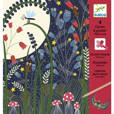 Karcképek, Telihold (Djeco, 9723, kreatív játék, 7-13 év)
