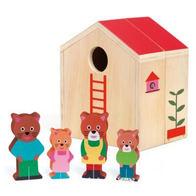Minihouse Djeco fa bébijáték, szerepjáték - 6385 (1-3 év)