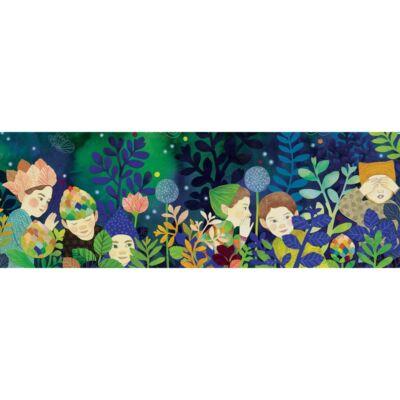 Művész puzzle, Titkok (Djeco, 7640, 100 db-os kirakó, 6-99 év)