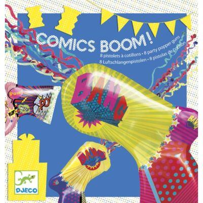 Parti játék, Comics boom (Djeco, 2090, partijáték, 4-8 év)