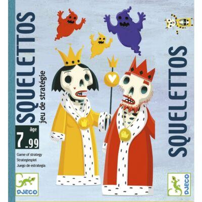 Squelettos (Djeco, 5107, kártyajáték, 7-99 év)
