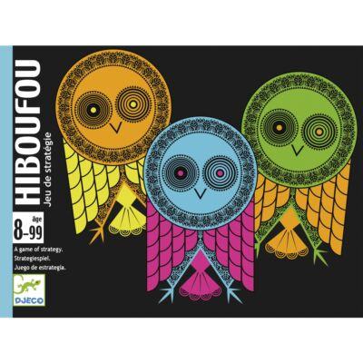 Hiboufou (Djeco, 5190, baglyos kártyajáték, 8-99 év)