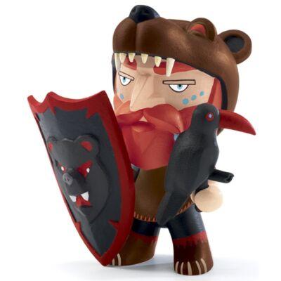 Arty Toys viking harcos, Goran (Djeco, 6729, játékfigura, 3-10 év)