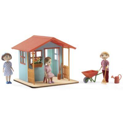 A kerti ház - Petit Home (Djeco, 7835, Garden playhouse, szerepjáték, 3-8 év)