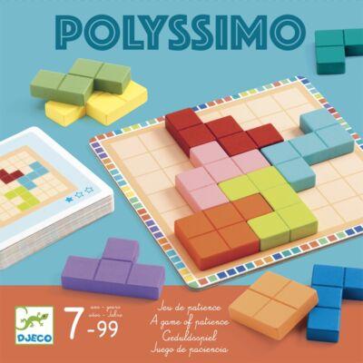 Polyssimo (Djeco, 8451, türelem társasjáték, 7-99 év)