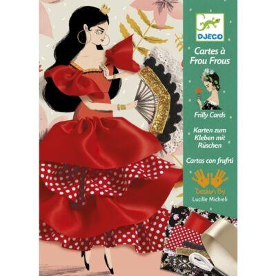 Flamenco (Djeco, 8674, kreatív készlet, 3-15 év)