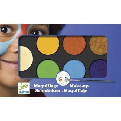 Arcfesték, természet, palette 6 colours (Djeco, 9230, arcfesték, 3-12 év)