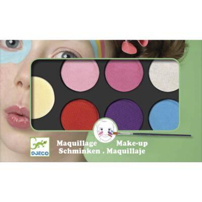 Arcfesték, édes, palette 6 colours (Djeco, 9231, arcfesték, 3-12 év)