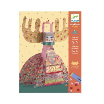 Origami, Ms Bliss (Djeco, 9665, kreatív készlet, 7-13 év)