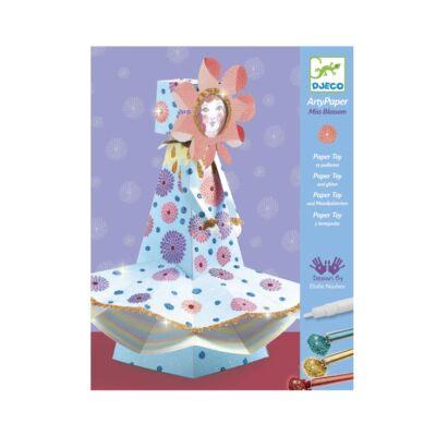 Origami, Ms Blossom (Djeco, 9666, kreatív készlet, 7-13 év)