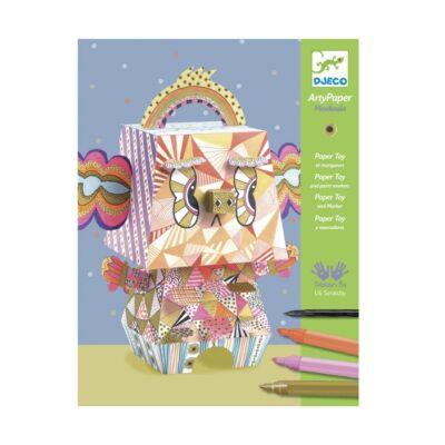 Origami, Mexikoala (Djeco, 9667, kreatív készlet, 7-13 év)