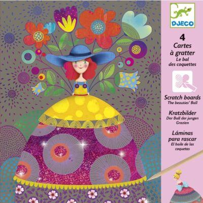 Karcképek, A szépségek gömbje (Djeco, 9725, kreatív készlet, 7-13 év)