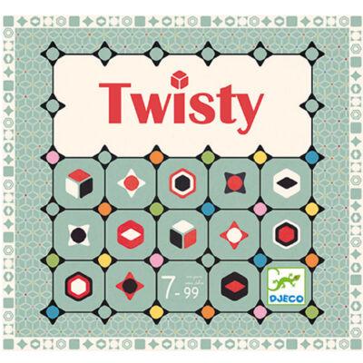 Twisty (Djeco, 8404, logikai társasjáték, 7-99 év)