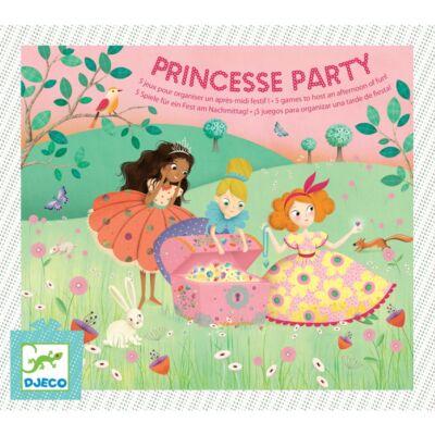 Hercegnő parti (Djeco, 2096, parti társasjáték, 5-9 év)