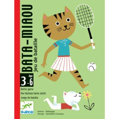 Macskacsata - Bata-Miaou (Djeco, 5139, kártyajáték, 3-6 év)