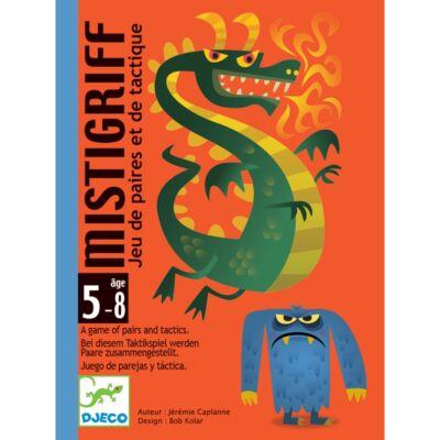 Mistigriff (Djeco, 5142, sárkányos furfangos kártyajáték, 5-8 év)
