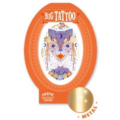 Tetoválás, Mágikus lények (Djeco, 9601, kreatív játék, 3-10 év)