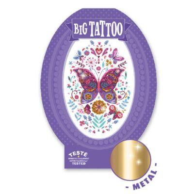 Tetoválás, Pillangó (Djeco, 9604, kreatív játék, 3-10 év)