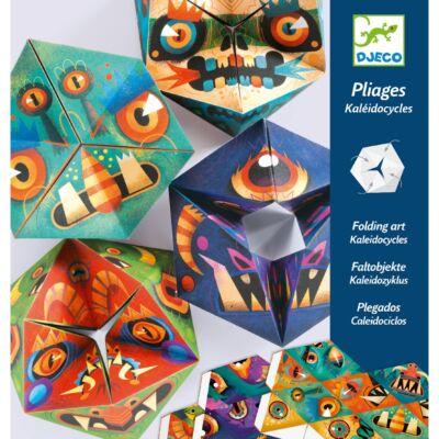 Origami, Tátika játék - Flexmonsters (Djeco, 9660, kreatív játék, 7-10 év)