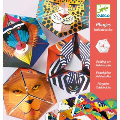 Origami, Tátika játék - Flexanimals (Djeco, 9661, kreatív játék, 7-10 év)