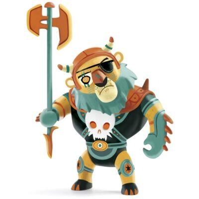 Arty Toys viking harcos, Maximus (Djeco, 6727, játékfigura, 3-10 év)
