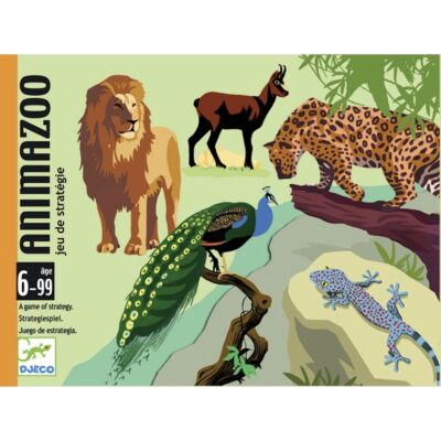 Animazoo (Djeco, 5188, állatos kártyajáték, 6-99 év)