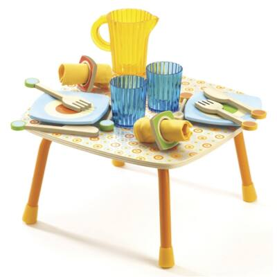 Gabi ebédlője (Djeco, 6519, fa szerepjáték, 2-8 év)
