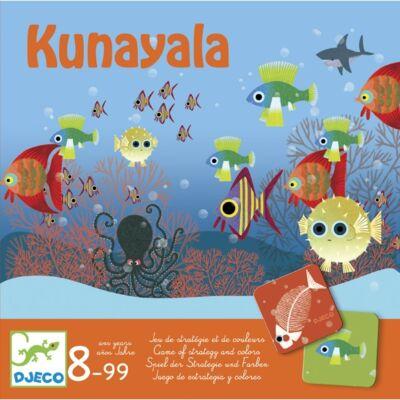 Kunayala (Djeco, 8478, halas stratégiai társasjáték, 8-99 év)