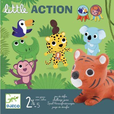 Első társasjáték, Little Action (Djeco, 8557, cselekedtetős játék, 2-5 év)