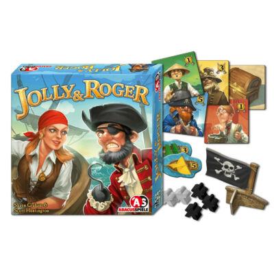 Jolly & Roger (2 fős, stratégiai játék, 8-99 év)