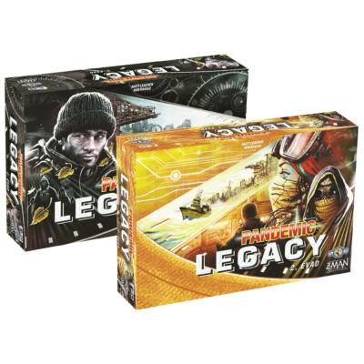 Pandemic Legacy  - 2. évad (kooperatív társasjáték, 13-99 év)