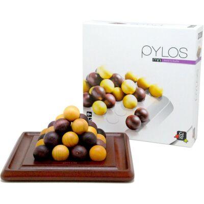 Pylos Mini (Gigamic, kétszemélyes stratégiai játék fából, 8-99 év)