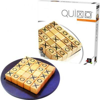 Quixo Classic (Gigamic, kétszemélyes stratégiai játék fából, 8-99 év)