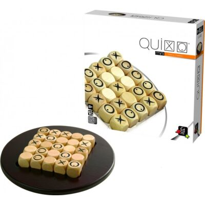 Quixo Mini (Gigamic, kétszemélyes stratégiai játék fából, 8-99 év)