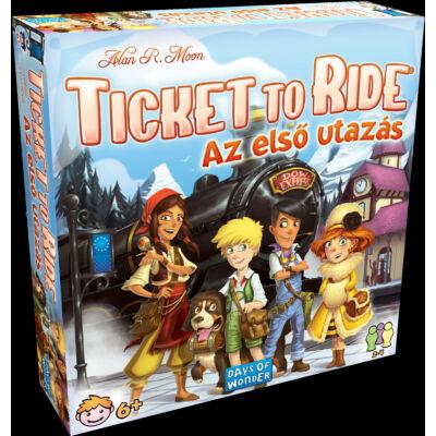 Ticket to ride, Az első utazás, (vonatos társasjáték, 6-99 év)