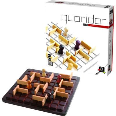 Quoridor Classic (Gigamic, 2-4 fős stratégiai játék fából, 8-99 év)