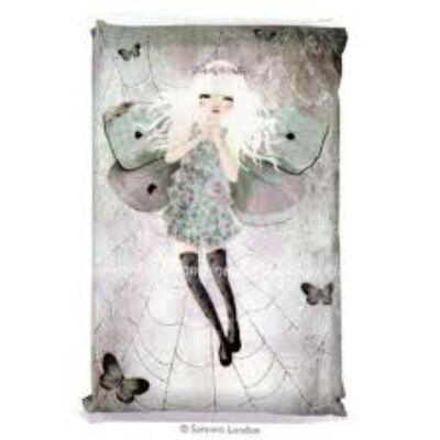 Gorjuss Papír zsebkendő - Miss Butterfly (Santoro, 729EC2, ajándéktárgy, 0-99 év)