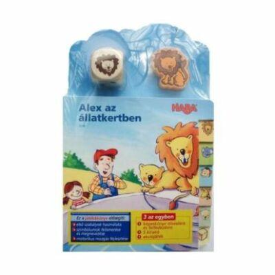 ALEX az állatkertben, könyv és játék egyben (HABA)