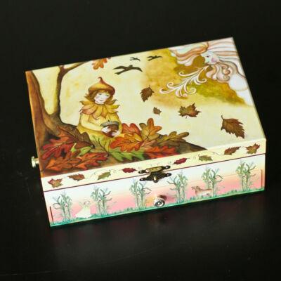 Zenélő ékszerdoboz, Hulló levelek (Musicbox, zenedoboz, 3-99 év)